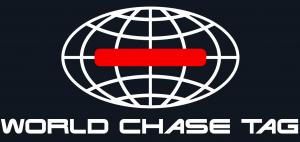 worldchasetag ロゴ 黒